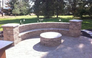 Fire Feature and Stone Work