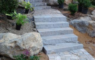 Stone Stair Walk Way