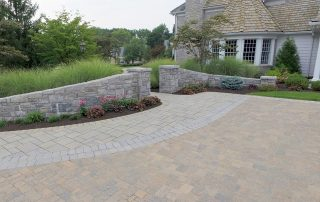 Paver Driveway and Walkway